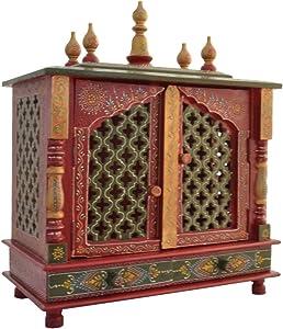 Jodhpur Handicrafts Wooden Temple/Home Temple/Pooja Mandir/Pooja Mandap/Temple for Home