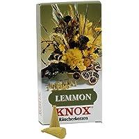KNOX Vela de Incienso Lemon