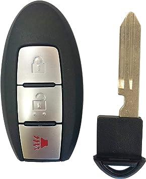 Key Fob fits 2017 2018 Nissan Armada 2009 2010 Nissan Cube Keyless Entry Remote CWTWB1U825