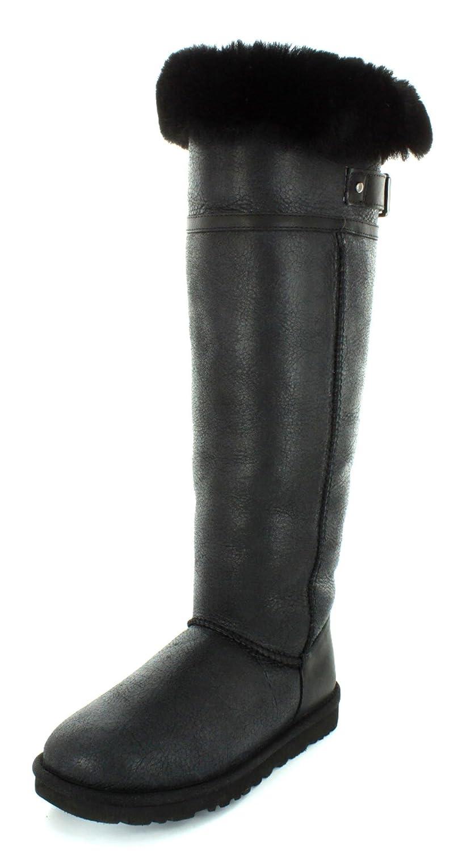 e0a0580078a UGG Australia Womens Devandra Black Winter Boot - 11  Amazon.co.uk  Shoes    Bags