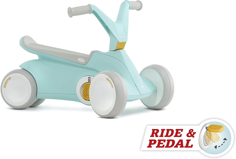 BERG Go2 Correpasillos convertible a coche de pedales, Color Menta (24.50.02.00)