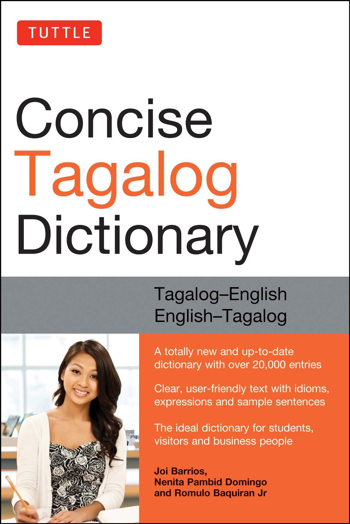 Amazon.com Tuttle Concise Tagalog Dictionary Tagalog English ...