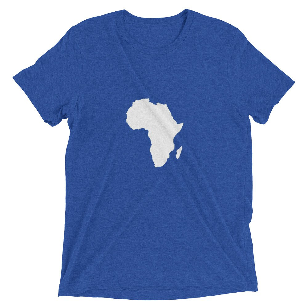 world craft collective Short Sleeve Africa Continent t-Shirt