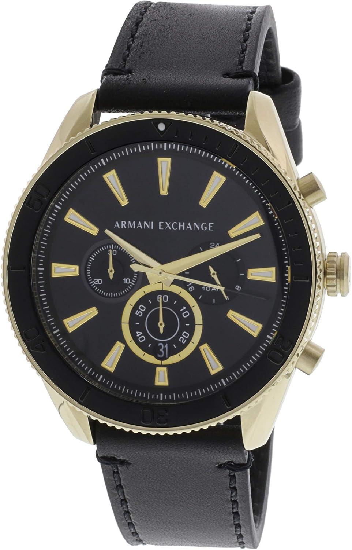 Armani Exchange Reloj Cronógrafo para Hombre de Cuarzo con Correa en Acero Inoxidable
