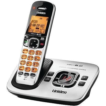 amazon com d1780 dect 6 0 expandable cordless phone with digital rh amazon com Uniden Phones with Answering Machine Uniden -DECT Phone