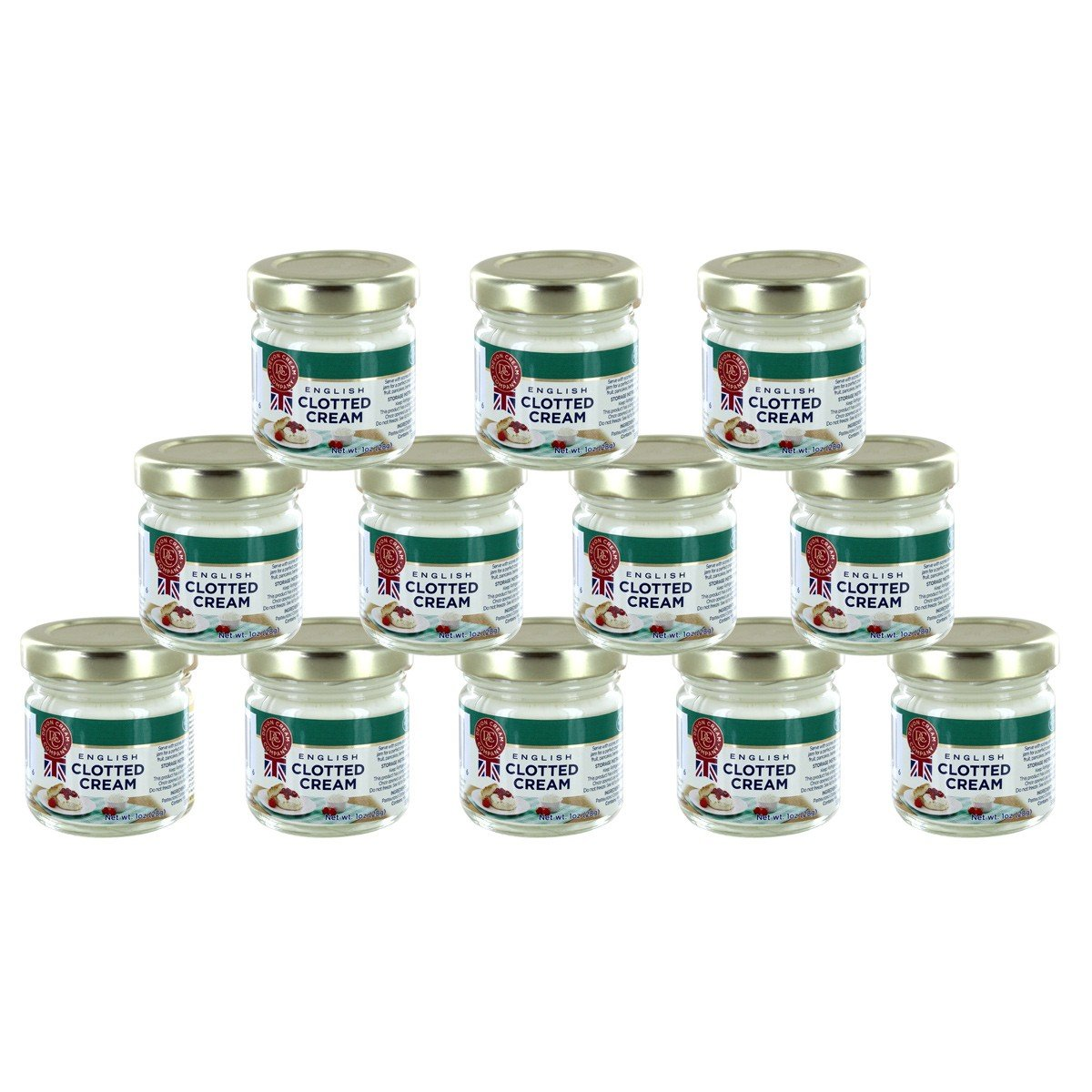 Clotted Cream Multipacks with Insulated Shipping Liner (Case of 12) by Online Stores