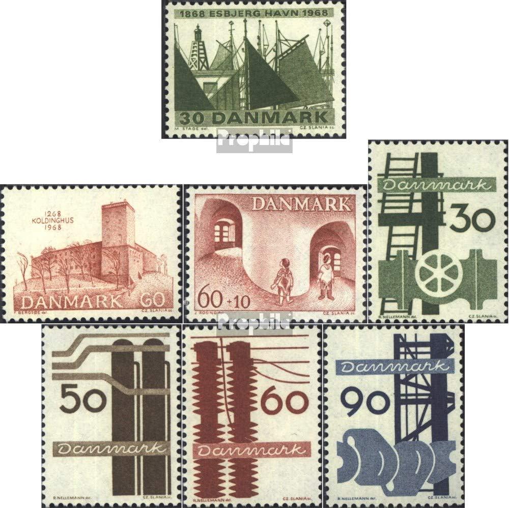 Prophila Collection Dinamarca 467,468,469 (Completa.edición.) Nuevo con Goma Original 1968 Sellos Especiales (Sellos para los coleccionistas): Amazon.es: Juguetes y juegos