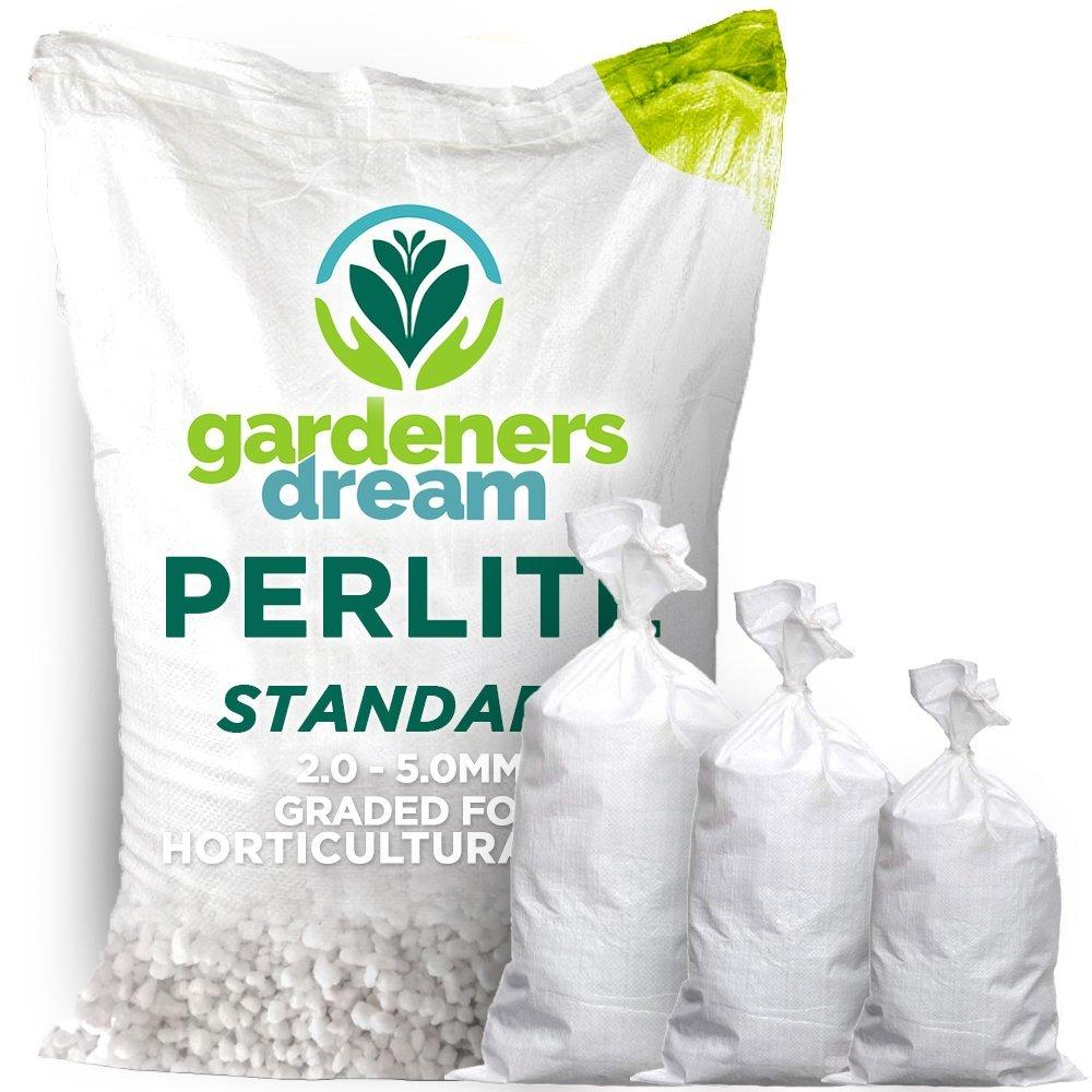 GardenersDream Premium Perlite Medium Grade | 0.6mm | For Mixing Compost Growing (1L)
