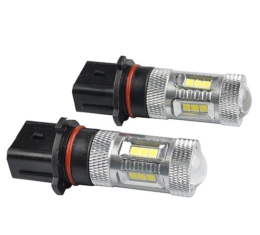 9 opinioni per RunQiao 2 (15 × P13W PSX26W SH23W 12277)-Lampadina a LED (con Chip) per SAMSUNG