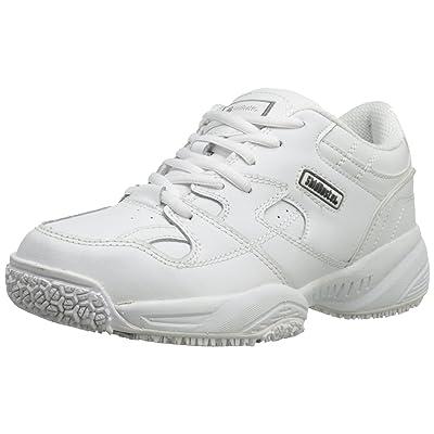 Skidbuster 5056 Women's Leather Comfort Slip Resistant Athletic Shoe: Shoes