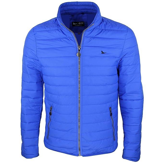 low priced 086f9 a85b3 RDV Giubbotto Piumino Uomo 100 Grammi - Blu, Blu Navy, Nero, Rosso