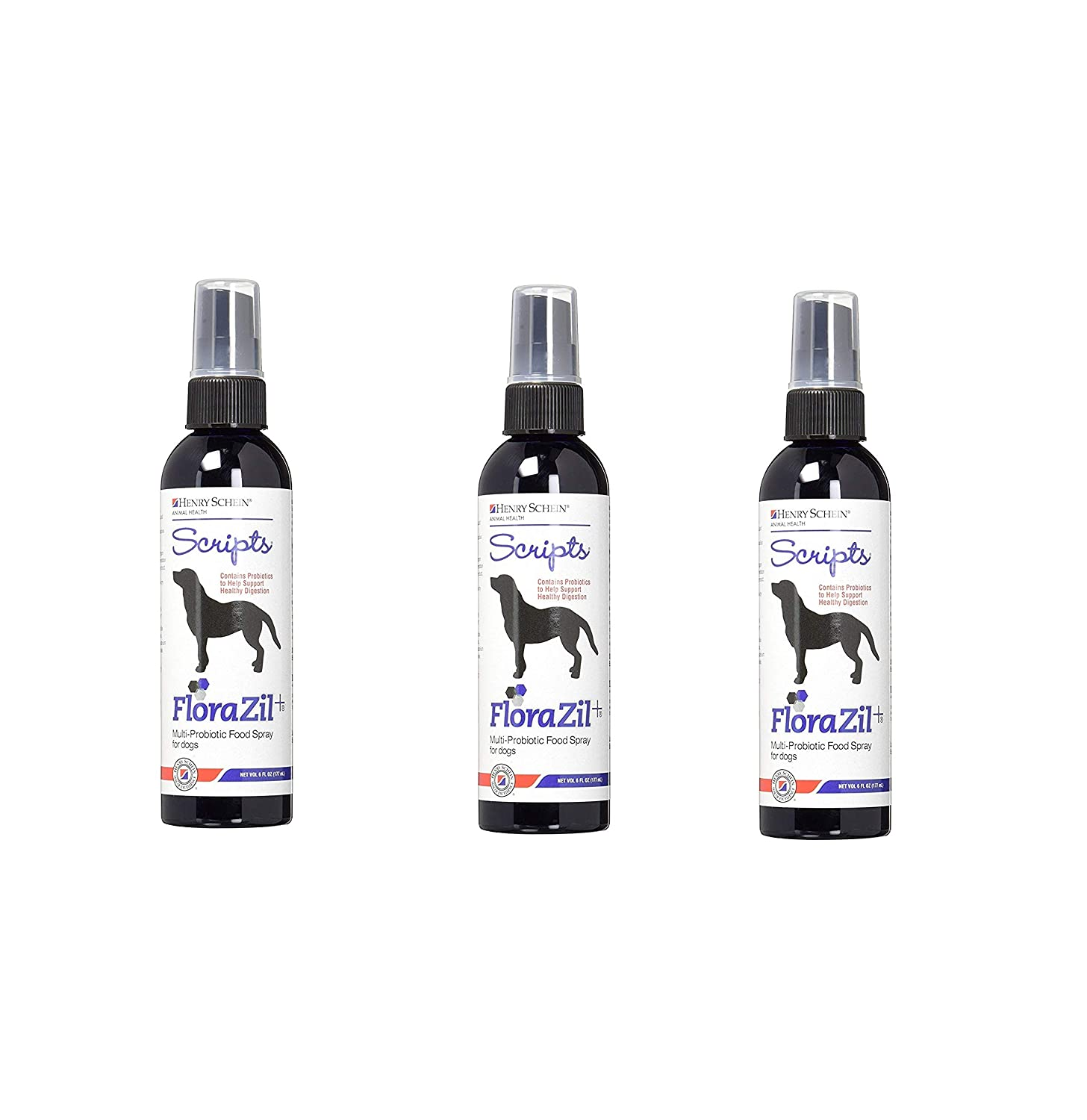 Florazil MultiProbiotic Food Spray for Dogs 6 oz