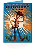 disney toy story woody birthday star ! birthday card