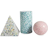 Now House por Jonathan Adler Trio de Formas modernistas, Multicolor