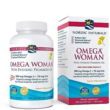 Amazon.com: Nordic Naturals - Omega Woman, mezcla de aceite ...