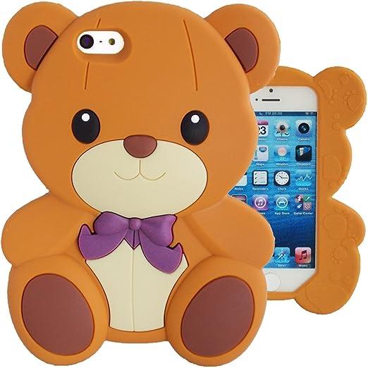 35 opinioni per SKS Distribution® rosolare Bow Orso Bear Custodia in silicone / Cover / Case per