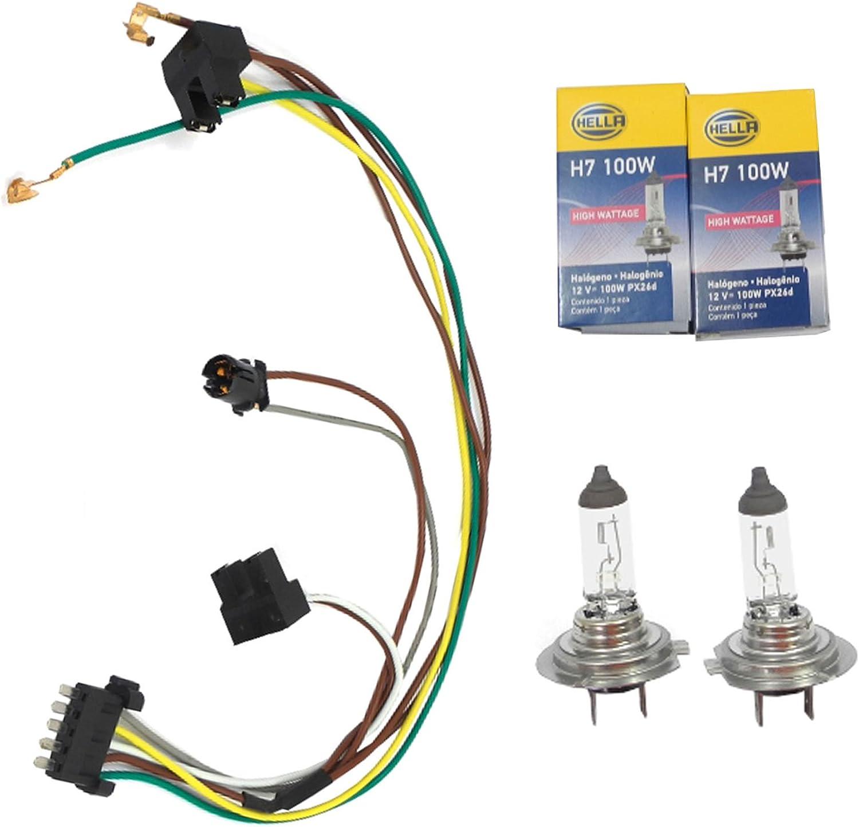 15 Piece HALOGEN Head Light Lamp Bulb Fuse Kit fits VAUXHALL H1 H7 H4