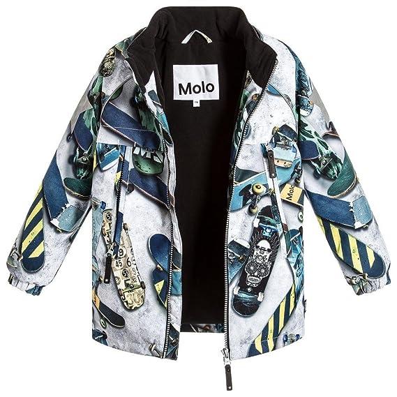 Molo Castor Boys Designer Winter Waterproof Skater Ski Coat. Size 4yrs e199975dbdb3