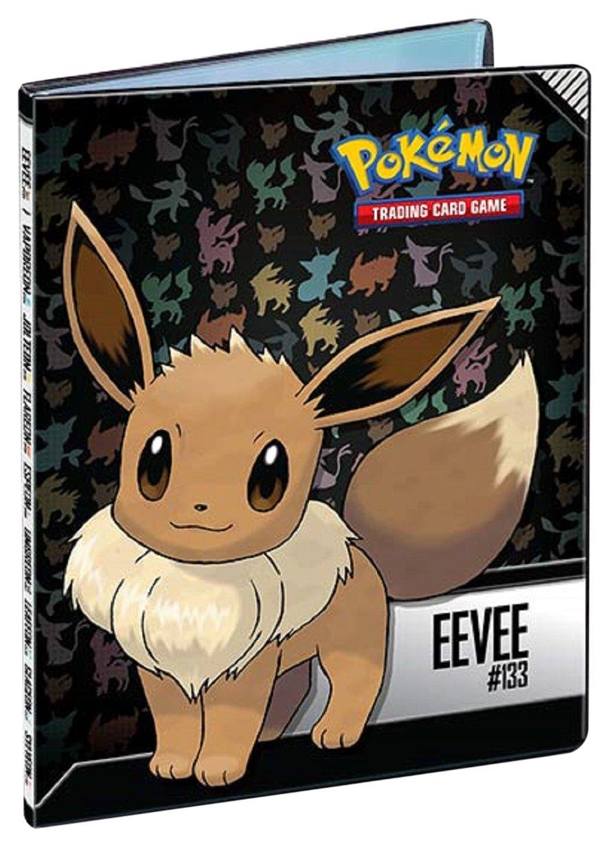 Asmodee - 84919 Pokémon - Evoli Cahier Range-Cartes, 84919 84919-P