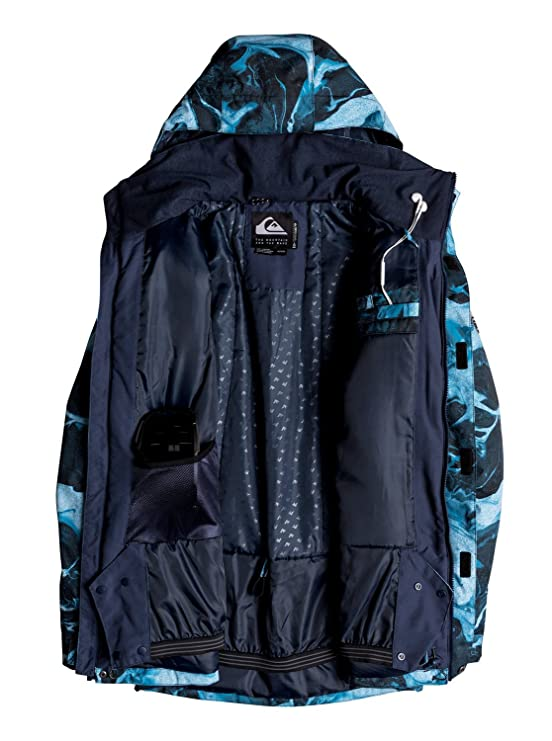 QUIKSILVER Mens Mission Printed 10k Snow Jacket