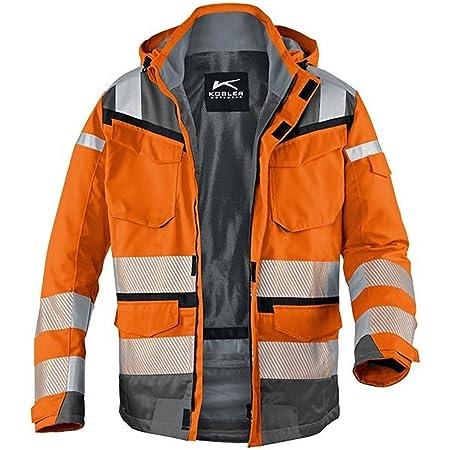 Kubler 13078332-3797-XS Reflectiq PPE 2 Weather Jacket, Orange Anthracite, 49be85313f