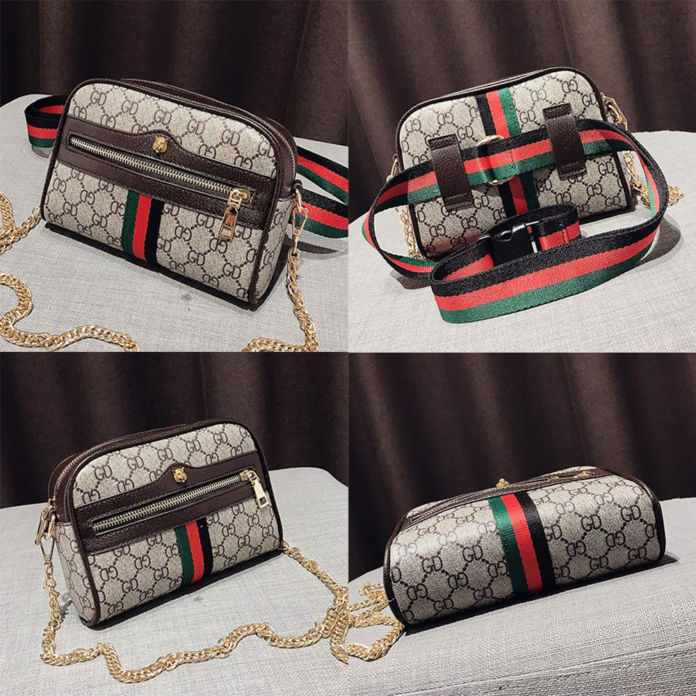 c3b9e545f780 Onzama Womens Leather Designer Belt Bags Fanny Pack with Removable Belt  Waist Pouch Fashion Crossbody Bags