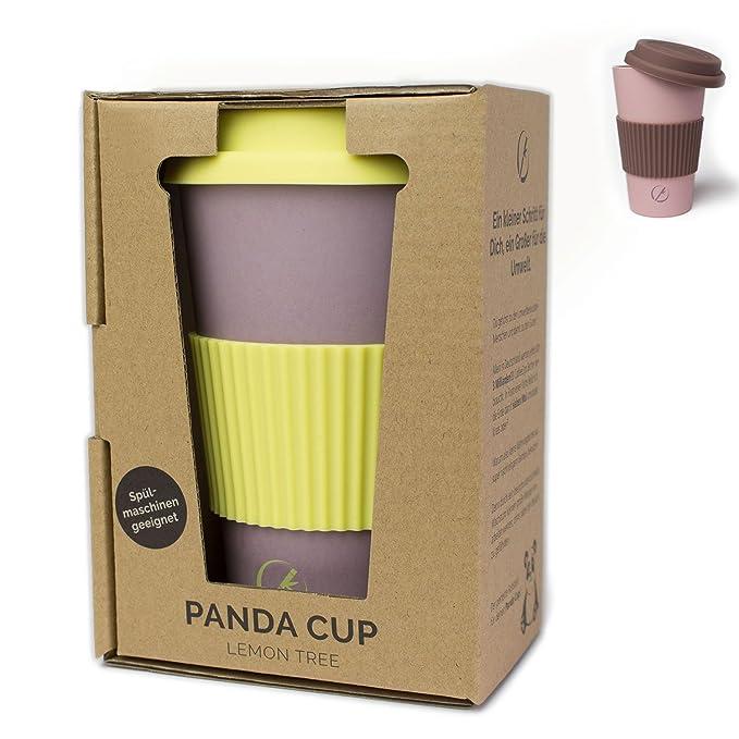 Planet Bamboo ♻ Taza de café para llevar, travel mug de fibra de ...