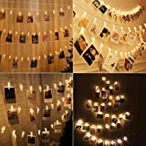100LED Peg String Light for Photo - 33FT/10M Extra Long Fairy Lights with Pegs Photo Clip, Hanging Photo Frames…