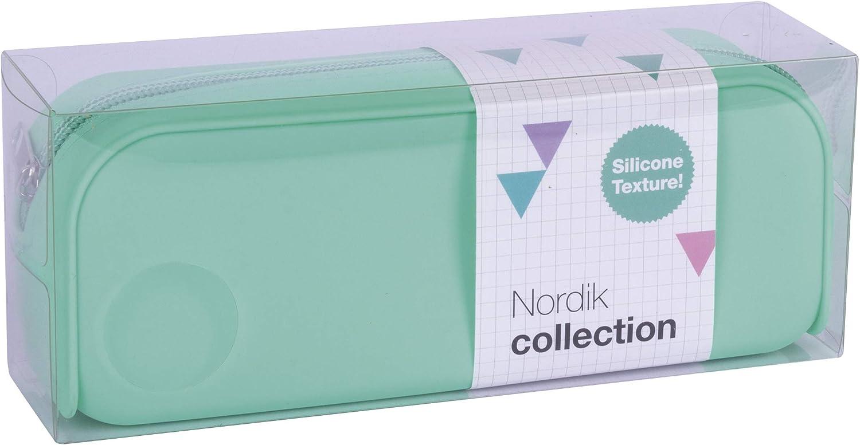 APLI 18414 - Estuche silicona Nordik Collection - Turquesa