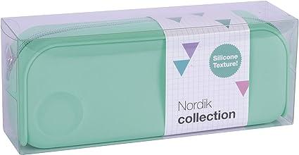 APLI 18414 - Estuche silicona Nordik Collection - Turquesa: Amazon.es: Oficina y papelería