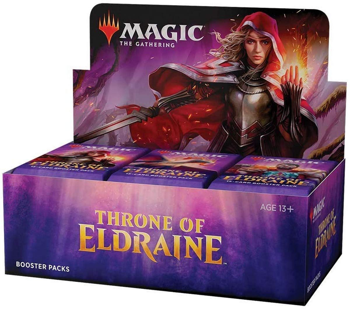 Magic: The Gathering Throne of Eldraine Booster Box | 36 Booster Pack (540 Cards) | Factory Sealed
