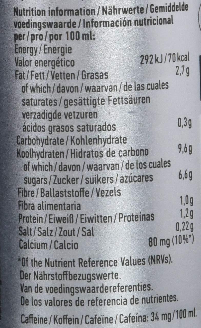 Oatly Mocha Latte, Bebida de café - 6 de 235 ml. (Total 1410 ml.): Amazon.es: Alimentación y bebidas