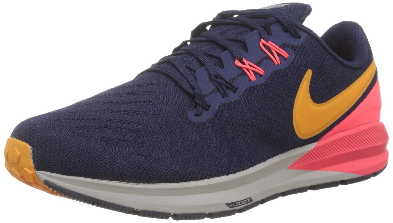 MultiCouleure (noirened bleu Orange Peel Flash Crimson 400) Nike Air Zoom Structure 22, Chaussures de Running Compétition Homme 43 EU