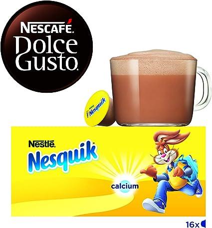 Nescafé Dolce Gusto Cápsulas de Nesquik - 16 Cápsulas de cacao ...