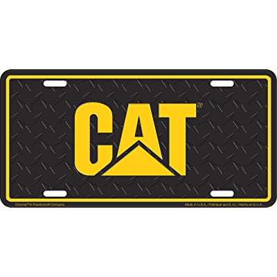 CHROMA 002027 'CAT' Metal Tag License Plate: Automotive