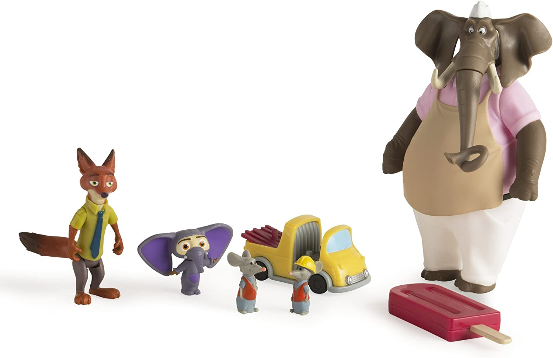 Disney Zootropolis Film-Personnage Packs-Nick Wilde /& Finnick