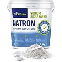 Natriumbicarbonaatpoeder 4,5 kg in voedselkwaliteit incl. doseerlepel Vegan - voor huishoudelijk, alkalisch bad…