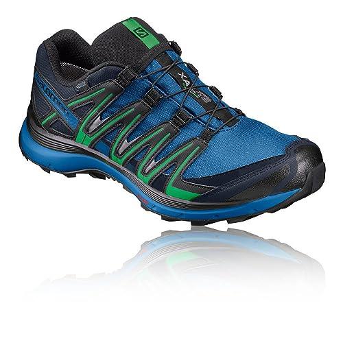 Salomon XA Lite GTX, Zapatillas de Trail Running para Hombre, Azul (Nautical Blue/Blue Depths/Classic Green), 40 2/3 EU