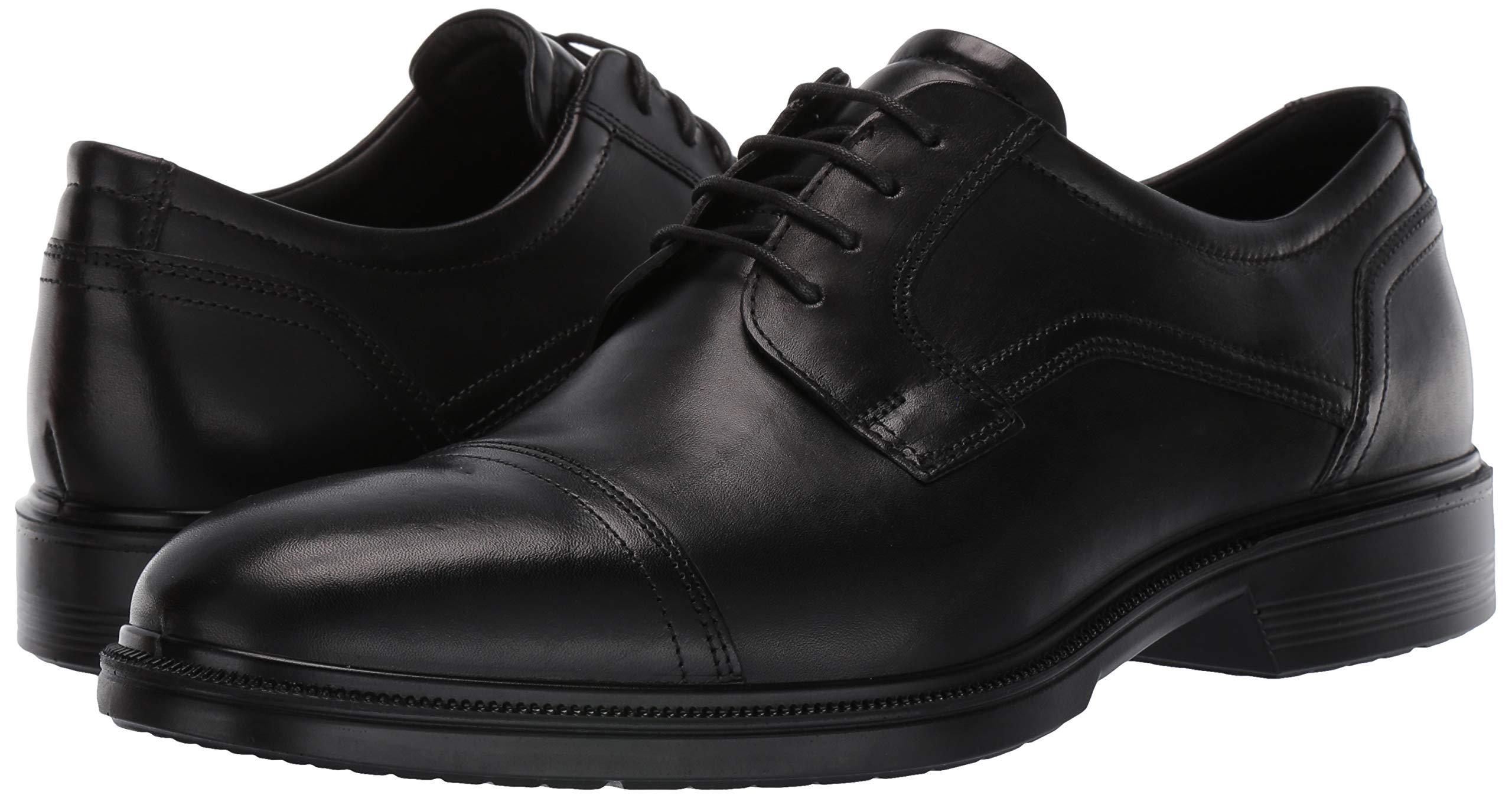 ECCO Men's Lisbon Cap Toe Tie Oxford, Black, 48 EU/14-14.5 M US by ECCO (Image #6)