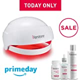 iRestore MAX Hair Growth Kit - FDA Cleared Laser Hair Loss Treatment for Men & Women with Thinning Hair - Lazer Hair Regrowth Helmet Cap Uses Light Therapy Like Combs, Brushes to Regrow & Thicken Hair