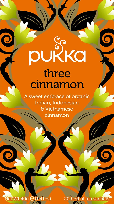 Organic Three Cinnamon Herbal Tea
