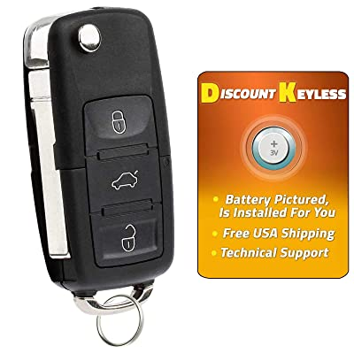Discount Keyless Replacement Uncut Car Remote Fob Key For Volkswagen Passat Jetta Golf Cabrio HLO1J0959753AM: Automotive [5Bkhe0806140]
