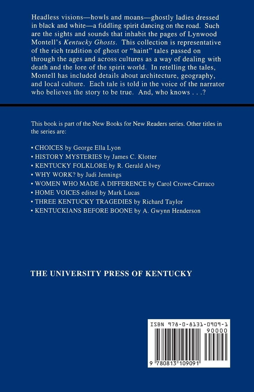 KENTUCKY FOLKLORE (NEW BOOKS FOR NEW READERS)