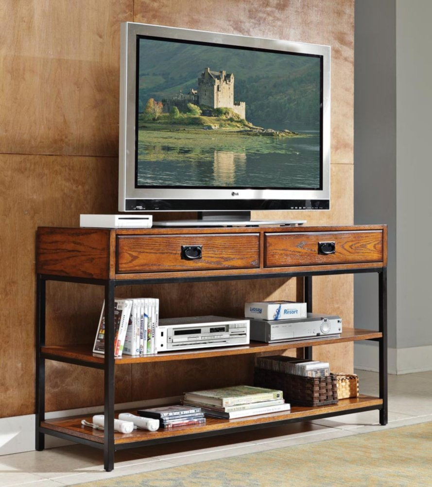 Amazoncom Home Style 505006 Modern Craftsman Media Console