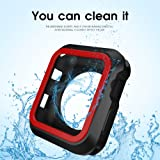 AWINNER Colorful Case for Apple Watch,Shock-Proof