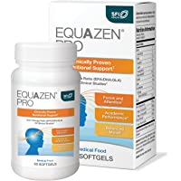 EQUAZEN PRO Fish Oil for Kids - Clinically Tested to Improve Focus, Learning, Memory + Behavior in Children, Teens - DHA…