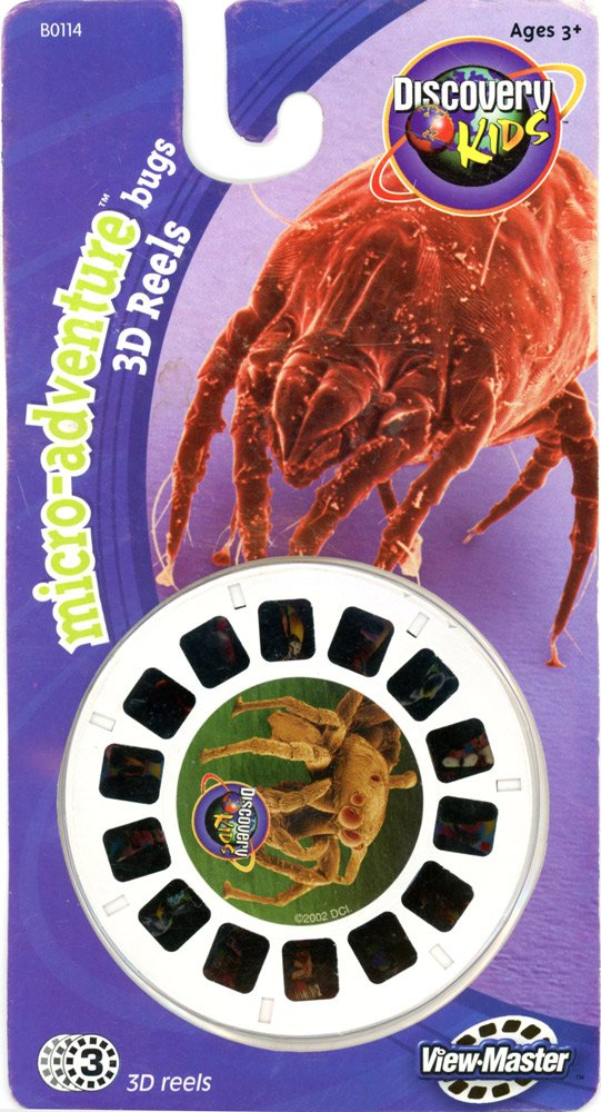 ViewMaster Discovery Channel -Micro-Adventure Bugs - 3 Reels on Card by 3Dstereo ViewMaster (Image #1)
