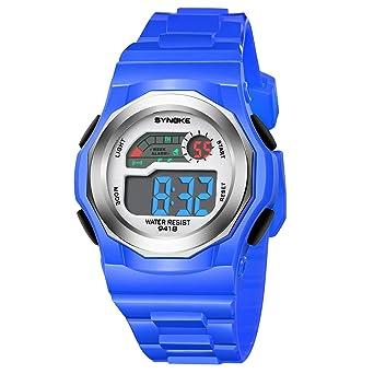 d10960616868 amstt Niños Relojes Relojes Deportes resistente al agua Digital y Analógico  Reloj de pulsera Chica Joven