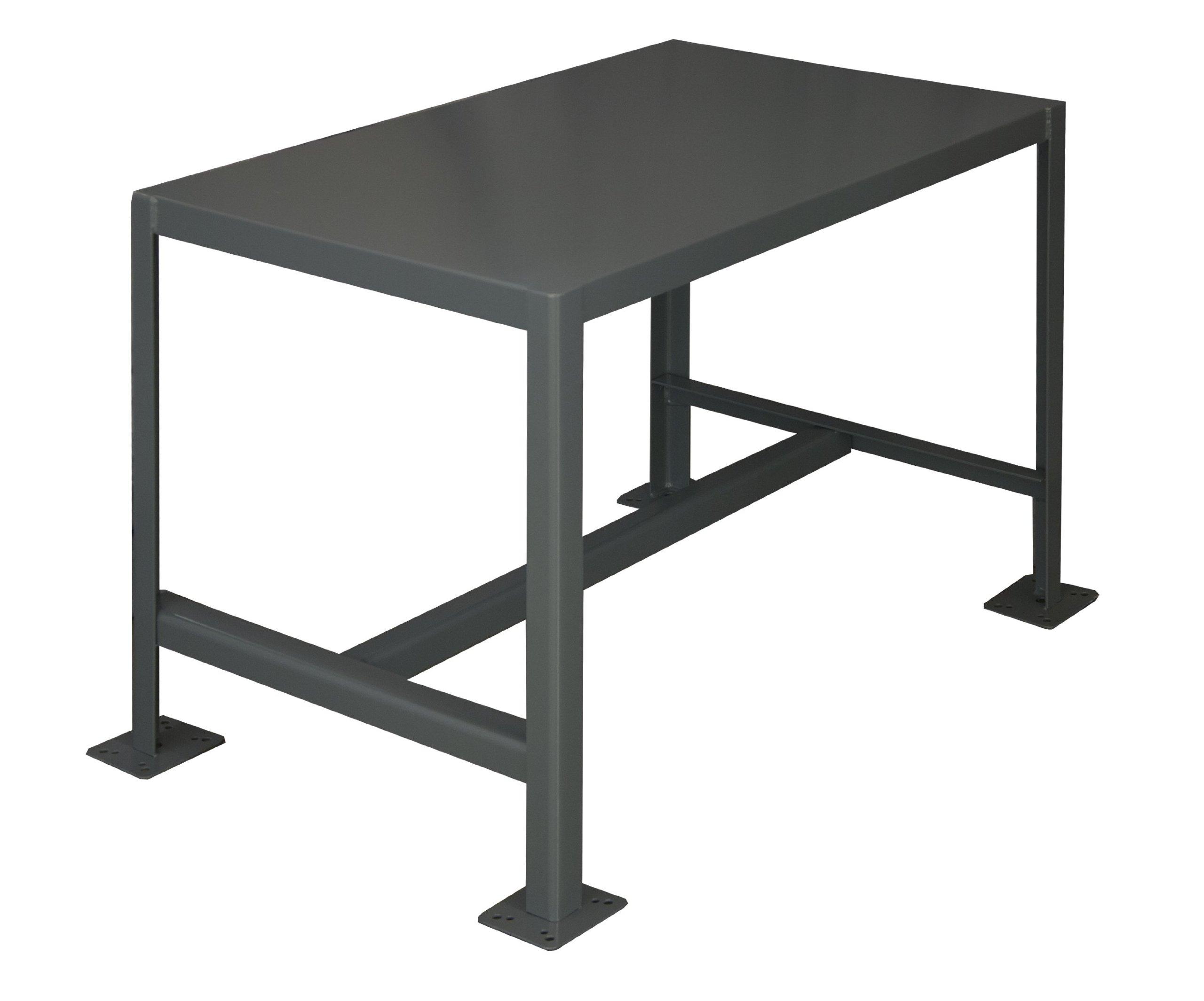 Durham Steel Medium Duty Machine Table, MT182436-2K195,  1 Shelves,  2000 lbs Capacity,  24'' Length x 18'' Width x 36'' Height