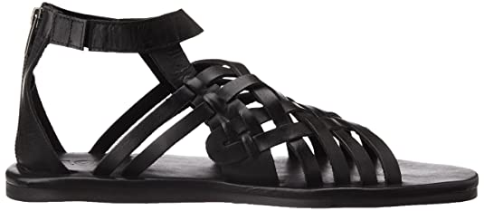 82f407fdad9 ESTD.1977 Men s 4840 Black Leather Sandals and Floaters - 11 UK India (45  EU)  Buy Online at Low Prices in India - Amazon.in